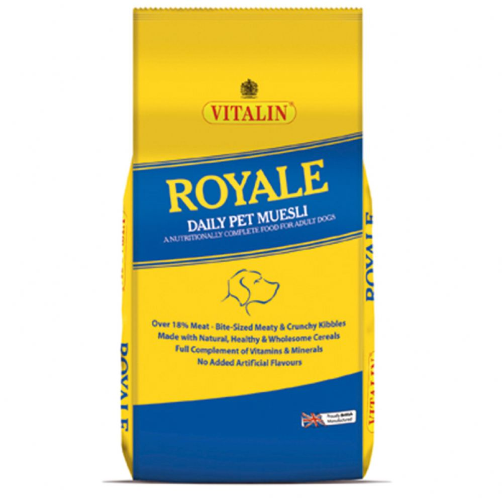 15kg Vitalin Royale - Complete Adult Dog Food